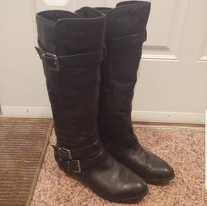 Aldo Black mid boots